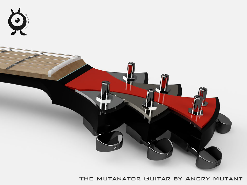 Guitar Head Stock Design