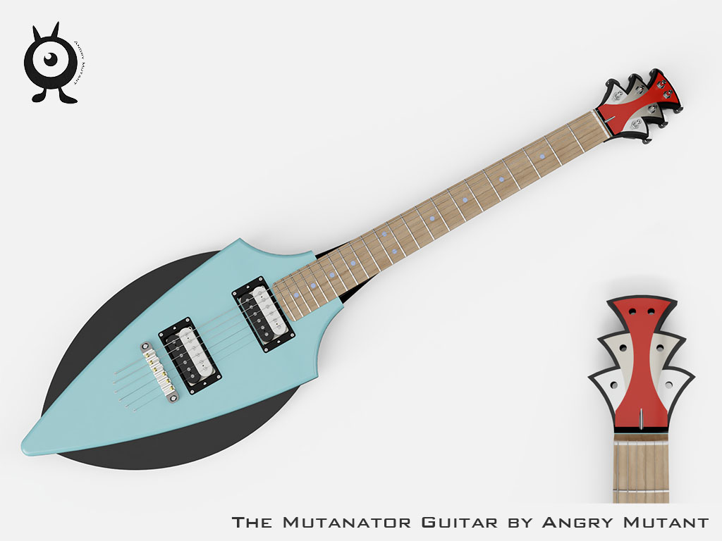 Mutator Guitar Design