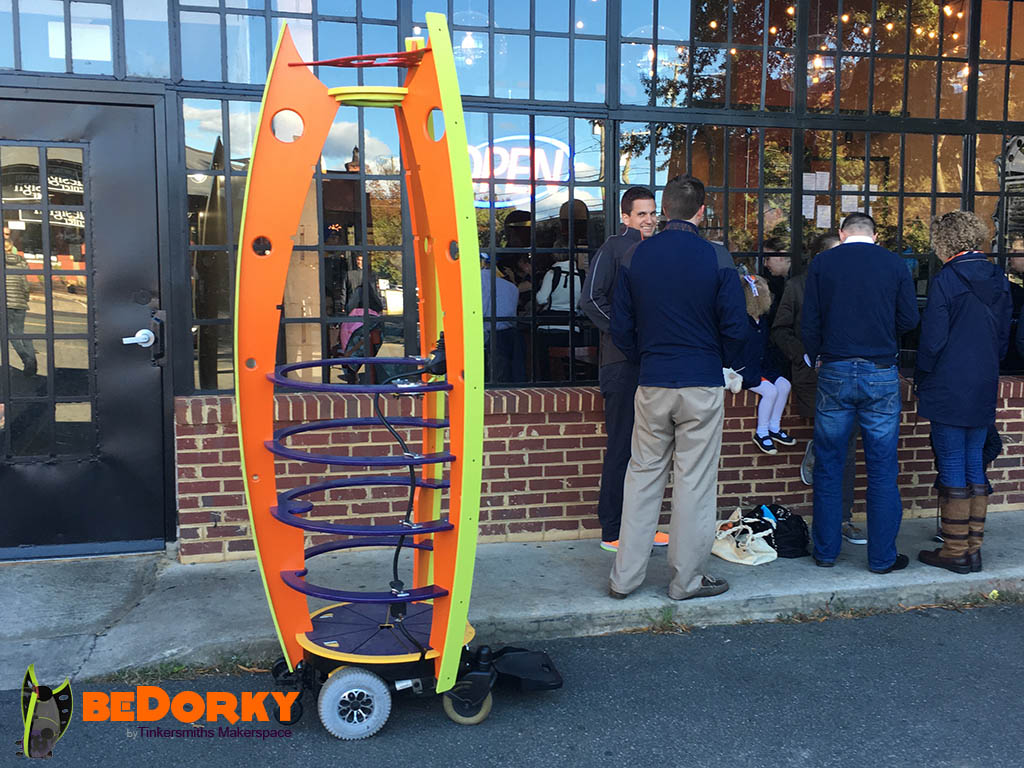 Dorkpodian Coffee run to Paradox  in Charlottesville Virginia