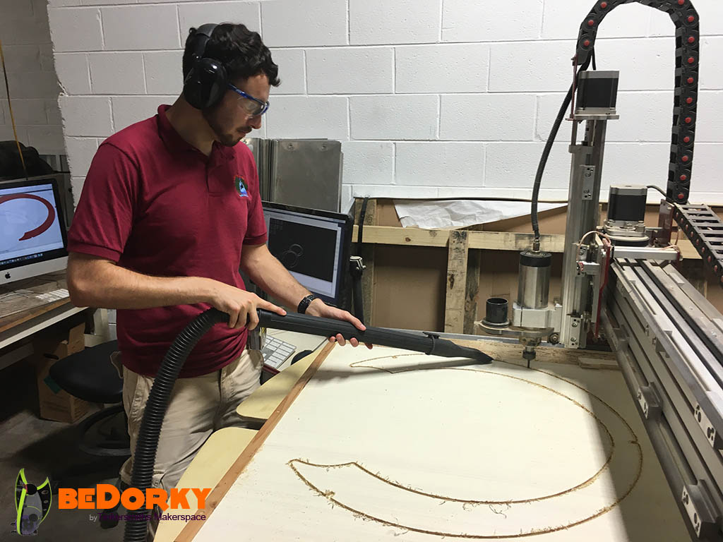 Dorkpod  CNC Guardrails in Charlottesville Virginia