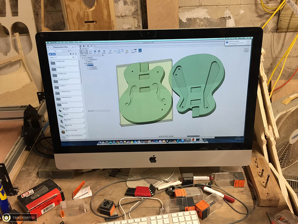 Guitar CAD Design