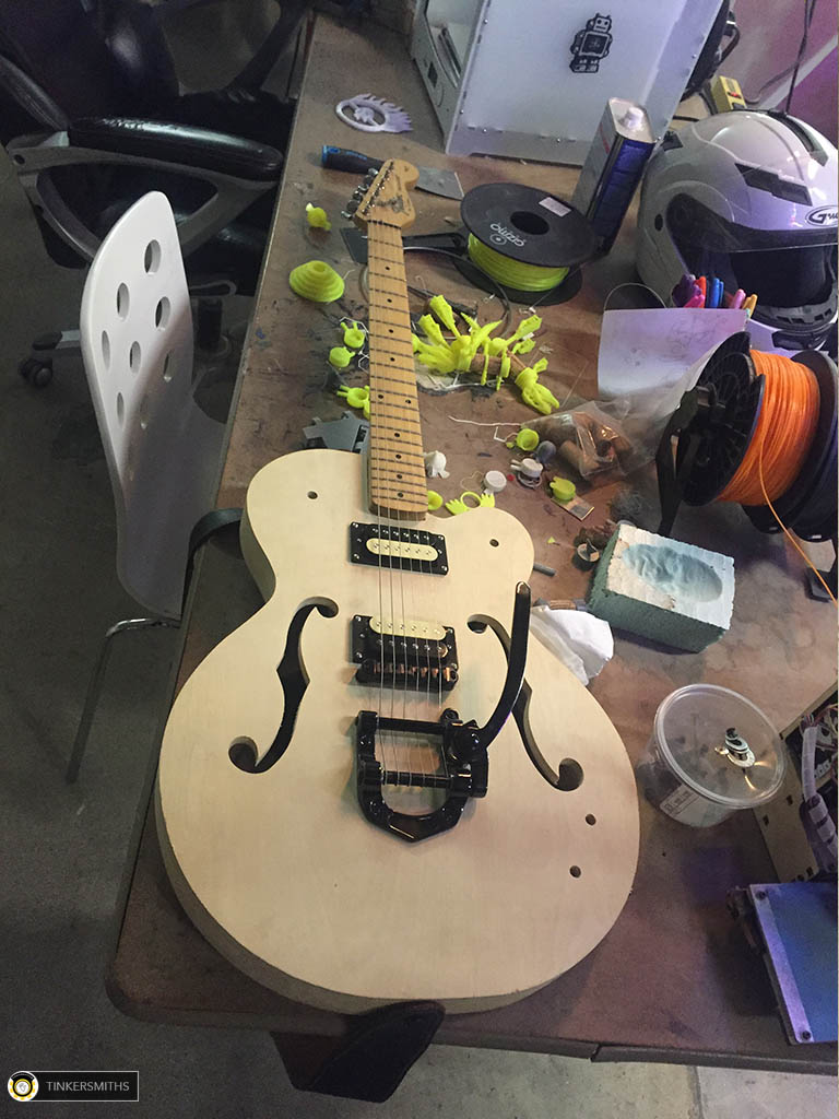 Custom Hollow Body Electric Guitar